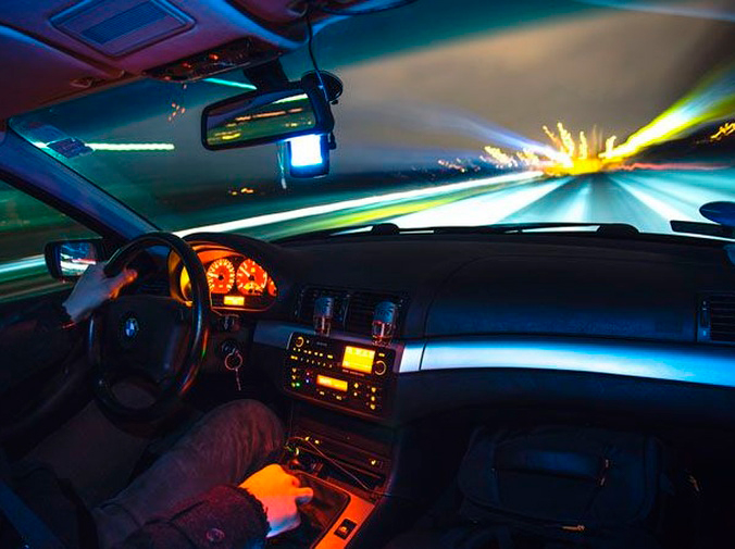 Consejos para una conducción nocturna segura